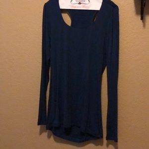 Cabi Navy Blue Long Sleeve